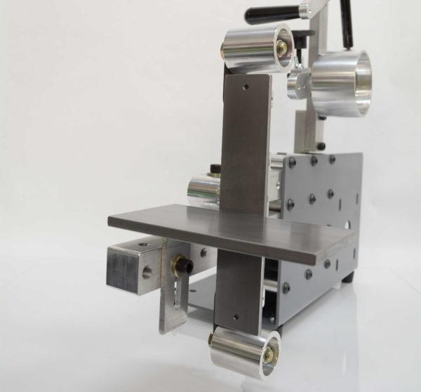 SRG 1.5 2x72 Belt Grinder/Sander Frame With Wheels Angle