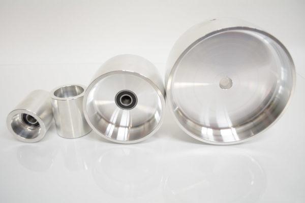 """6"""" belt grinder drive wheel set"""